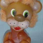 Львенок Левушка с волосами