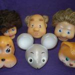 Головы для кукольного театра