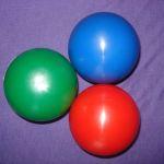 Мяч 250гр с водой